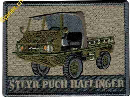 Photo de Steyr Puch Haflinger Insigne Badge