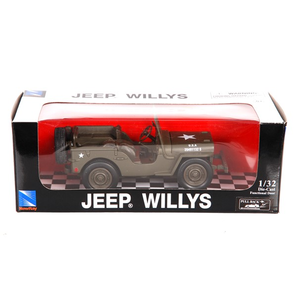 Picture of Willys Jeep Die-Cast Modell