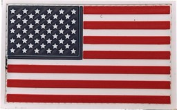 Bild von USA Flagge Stars and Stripes PVC Rubber Patch