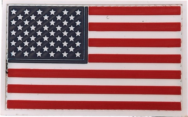 Picture of USA Flagge Stars and Stripes PVC Rubber Patch