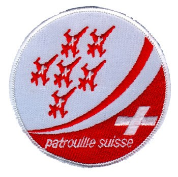Photo de Badge Patrouille Suisse