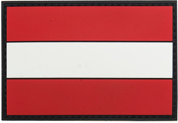 Picture of Österreich Flagge PVC Rubber Patch