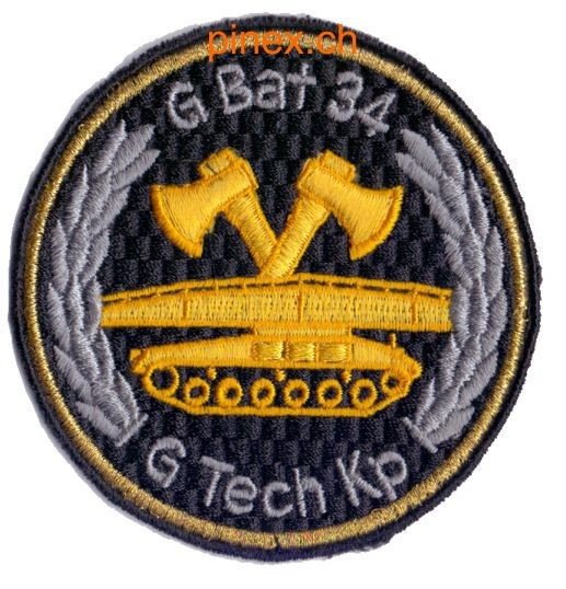 Photo de Genie Bataillon 34 Tech Kp Badge