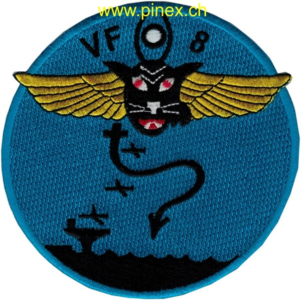 "Photo de VF-8 Staffelpatch ""Hellcats"" (WWII)"