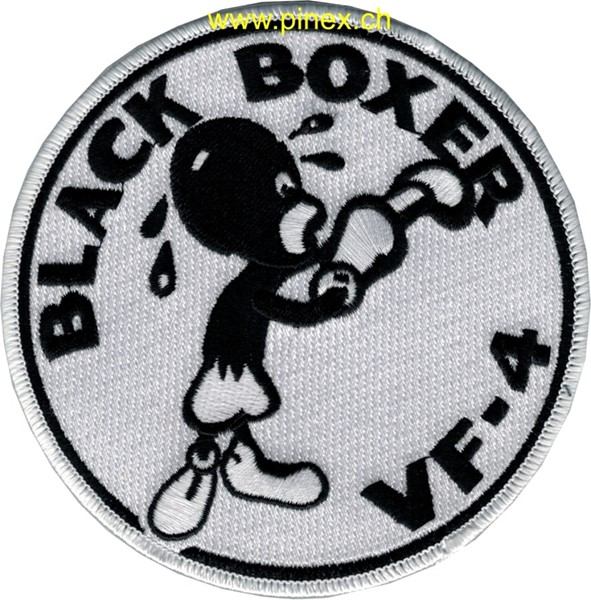 "Photo de VF-4 Patch ""Black Boxer"""