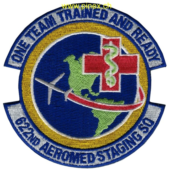 "Photo de 662nd Aeromed Staging Squadron ""one Team trained and ready"""