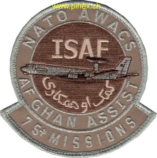 Picture of Nato Awacs Afghanistan Assist 75+ Missions ISAF