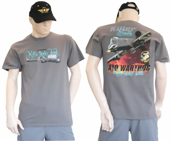 Photo de A10 Warthog Thunderbolt Tank-Killer T-Shirt