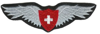 "Photo de Insigne de pilote ""Swiss Wing"""