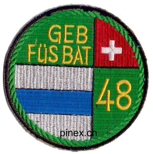 Abzeichen Badge Geb F 252 S Bat Pinex Badges Armeeabzeichen