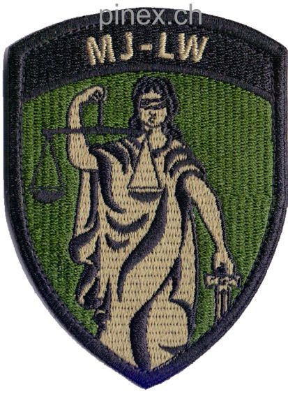 Photo de Badge Militärjustiz Luftwaffe mit Klett