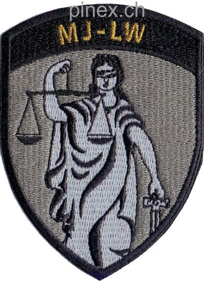 Photo de Badge Militärjustiz Luftwaffe ohne Klett