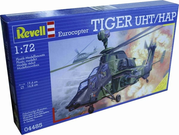 Photo de Revell Tiger Eurocopter Helikopter Modellbausatz 1:72