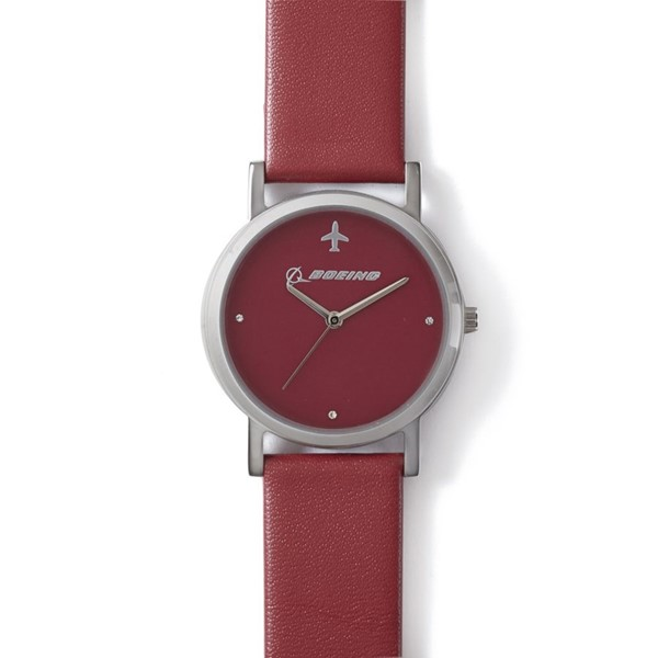 Picture of Boeing Damen Armband Uhr rot