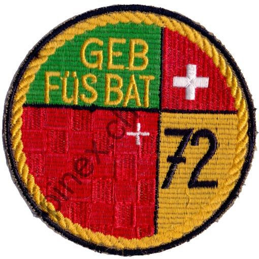 Photo de Geb Füs Bat 72 gelb