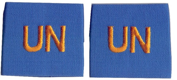 Picture of UN Epaulettes United Nations