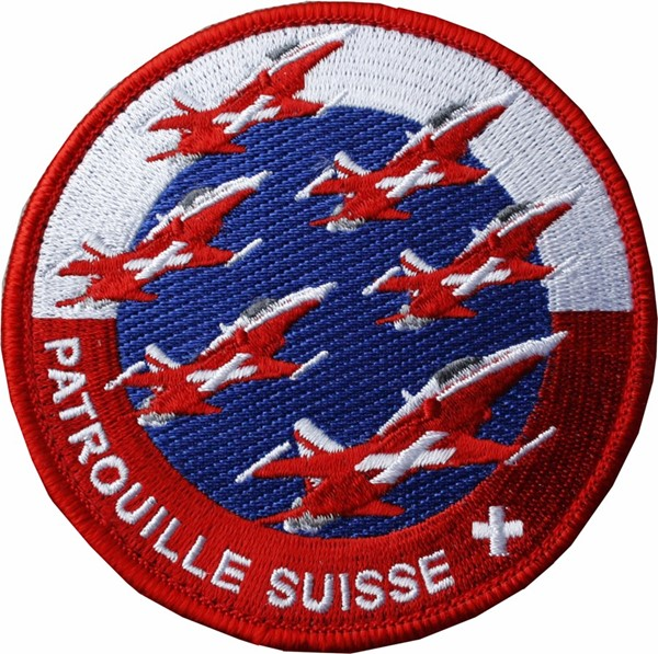 Picture of Patrouille Suisse Team Patch 2017