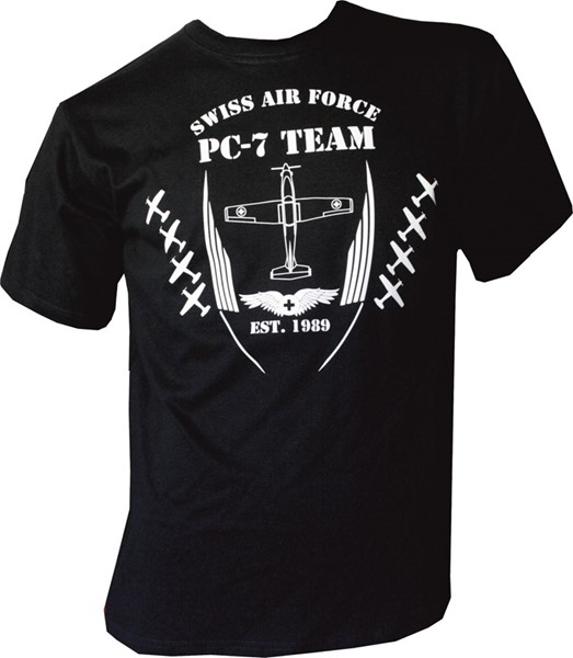 Picture of PC- 7 Team T-Shirt schwarz