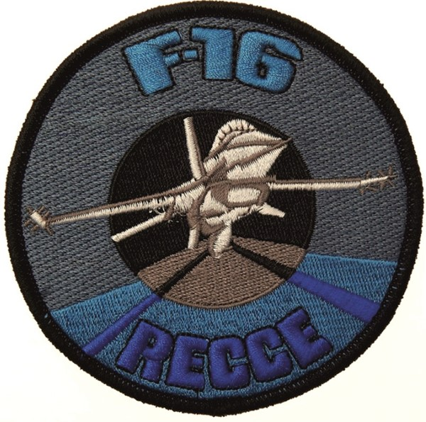 Photo de F-16 Fighting Falcon Recce Patch Aufnäher