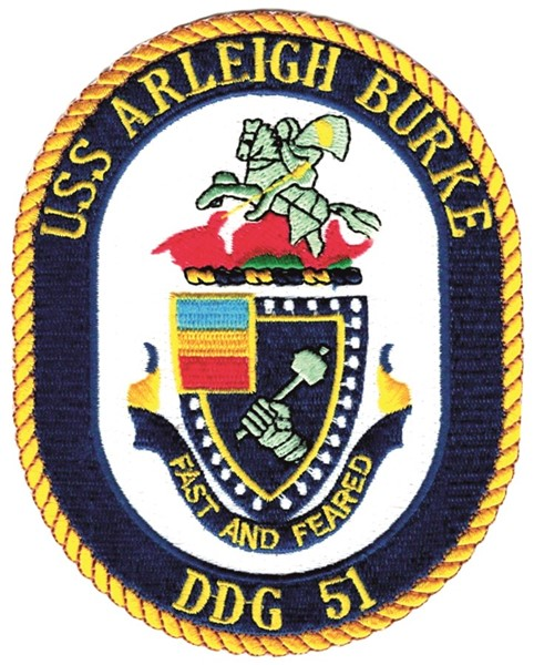 Photo de USS Arleigh Burke DDG 51 US Navy Zerstörer