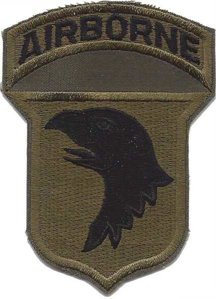 Bild von 101st Airborne Screaming Eagles Abzeichen Version C