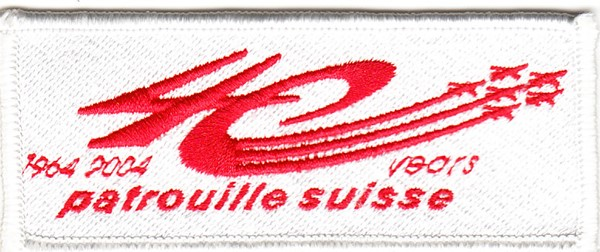 Photo de 40ans Patrouille Suisse Badge