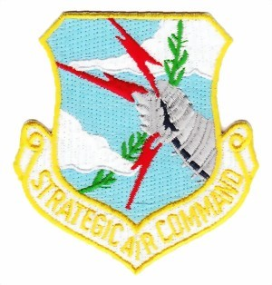 Photo de SAC Strategic Air Command Abzeichen US Air Force