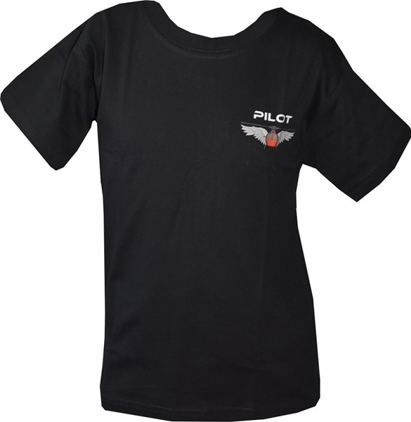 Photo de Helikopter Wing T-Shirt Kinder schwarz