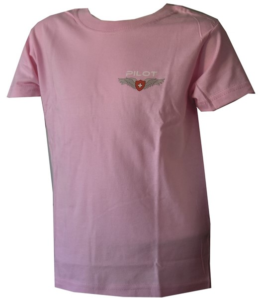 Photo de Pilot Wing Kinder T-Shirt Pink