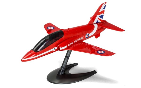 Photo de Maquette avion RAF Red Arrows Hawk Airfix maquette