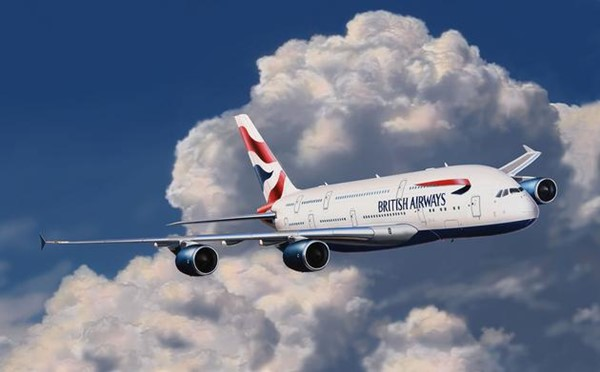 Photo de Revell Easy Kit Airbus A380 British Airways Stecksystem