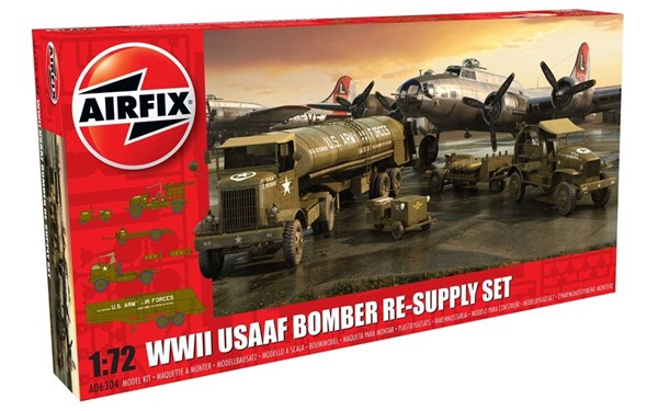 Picture of US Air Force Bomber Re-Supply Set 8th Air Force Modellbausatz 1:72 Airfix