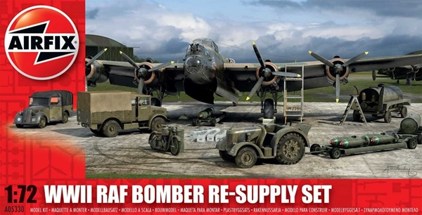 Photo de RAF Bomber Re-Supply Set Modellbausatz 1:72 Airfix