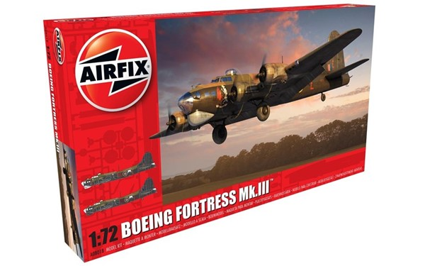 Photo de Boeing B-17 Flying Fortress Mk.III Bomber Modellbausatz 1:72 Airfix