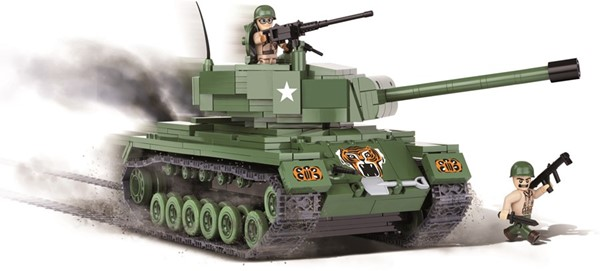 Picture of Cobi M46 Patton Panzer Bausatz US Army WWII Baustein Set