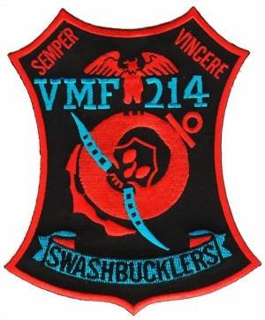 Photo de VMF-214 Swashbucklers Corsair Staffelbadge WWII