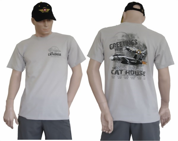Photo de Grumman Cathouse T-Shirt