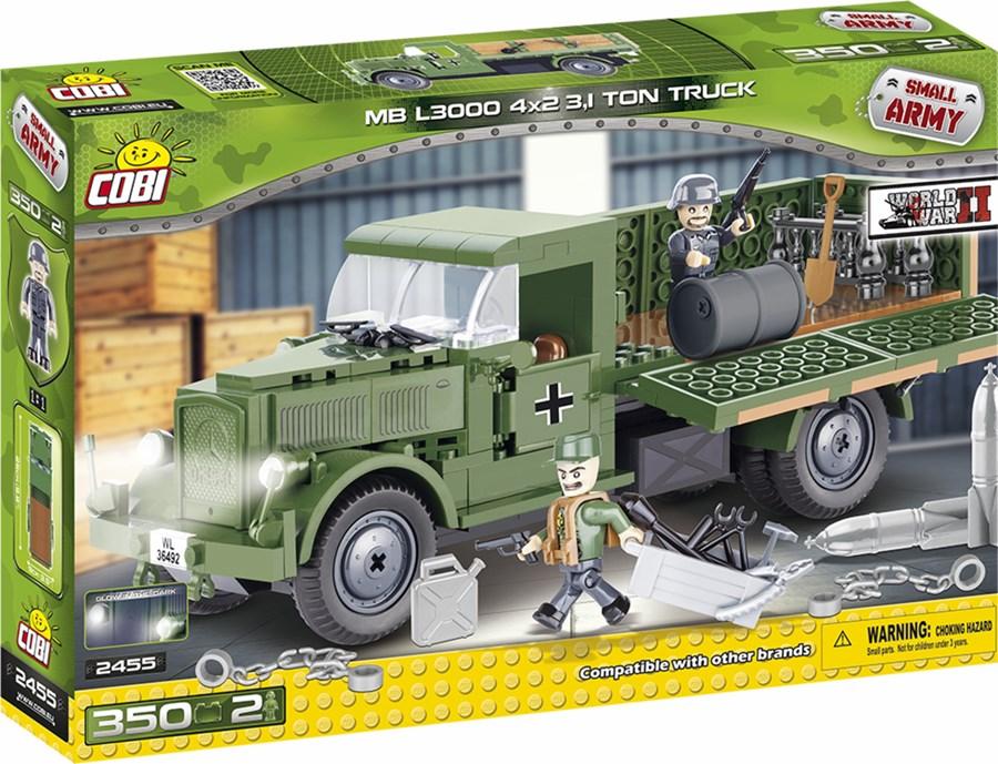 Cobi Mercedes Benz L3000 Lastwagen Deutsche Wehrmacht Wwii