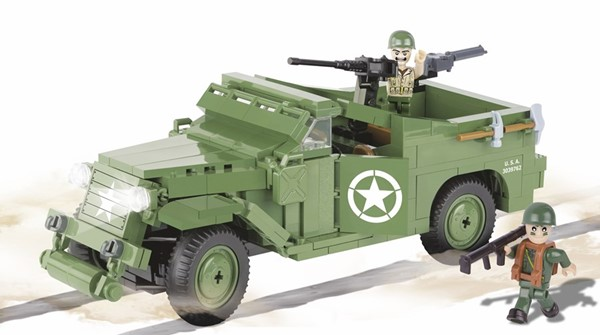 Photo de Cobi M3 Scout Car Panzerspähwagen US Army WWII Baustein Set