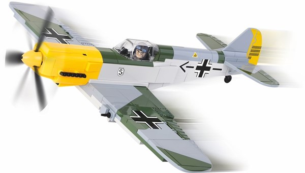 Photo de Messerschmitt BF 109 blocs des construction COBI maquette avion ME-109 avion guerre