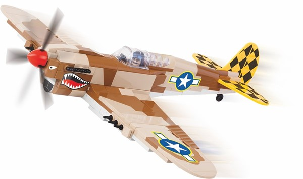 Picture of Cobi Curtiss P-40 Warhawk WWII Baustein Set