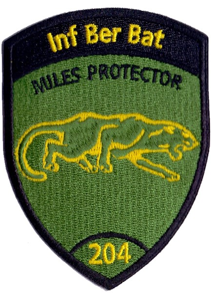 Photo de Inf Ber Bat 204 ohne Klett, Miles protector Badge