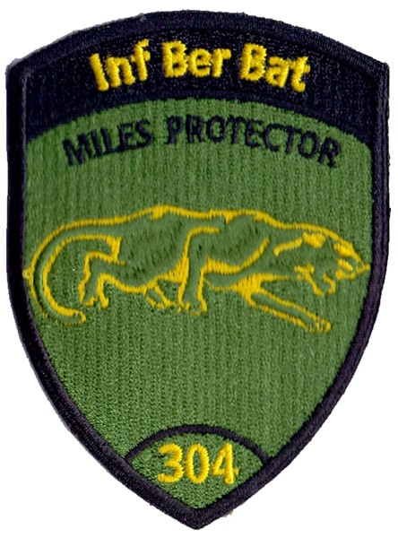 Photo de Inf Ber Bat 304 ohne Klett, Miles protector Badge