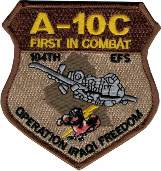 Photo de A-10C Thunderbolt Operation Iraqi Freedom First in Combat