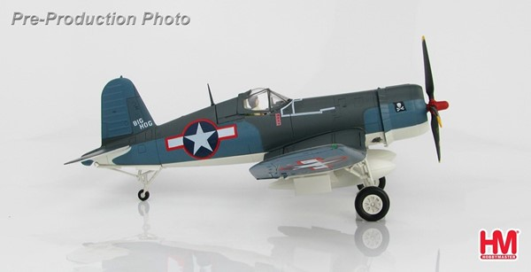 Picture of F4U Corsair VF-17 Nov 1943 US Navy diecast airplane Hobbymaster