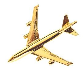 Photo de Boeing 747-400 Jumbo Jet large Pin