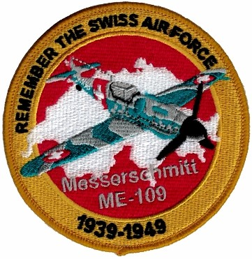 Picture of Swiss Air Force Messerschmitt ME109 Patch