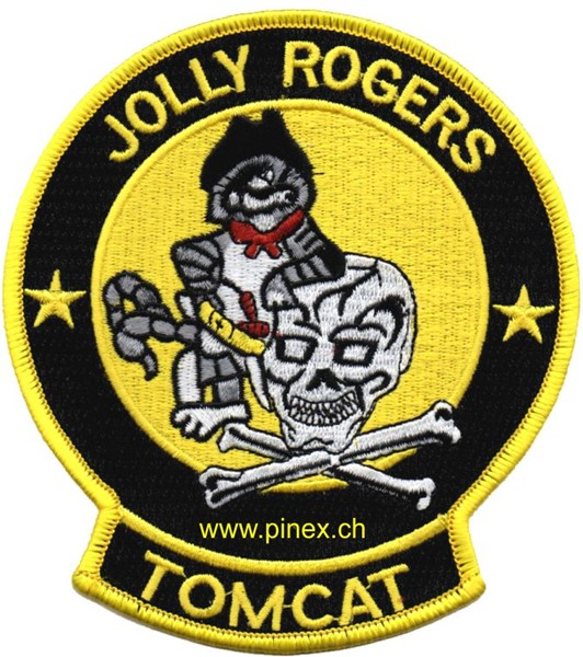 Picture of VF-103 Jolly Rogers Tomcat Patch Abzeichen