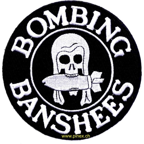 Picture of VMSB-244 Bombing Squadron Patch Marineflieger Bomberstaffel Abzeichen Bombing Banshees