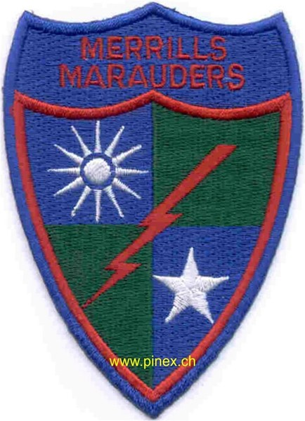 Picture of 5307th Long Range Penetration Special Operations Patch Merrills Mauders Abzeichen